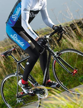 The CAAD's stiff and efficient frame surges forward when you up the power