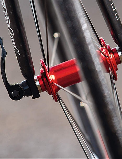 Racing 7's entry-level wheels spin smoothly on their sealed bearing hubs