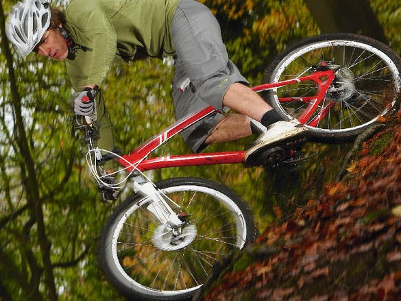 The Hardrock is a very comfy bike that impresses from the off