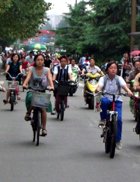 Electric bike sales are soaring in China