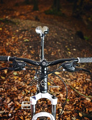Shimano's cheap and cheerful Easyfire  shifters work well enough