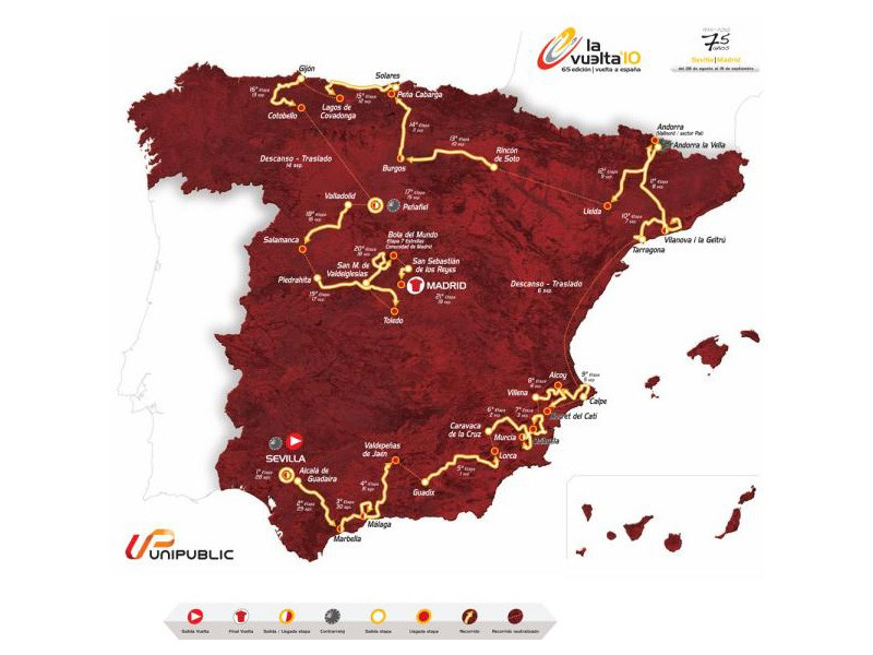 The 2010 Tour of Spain