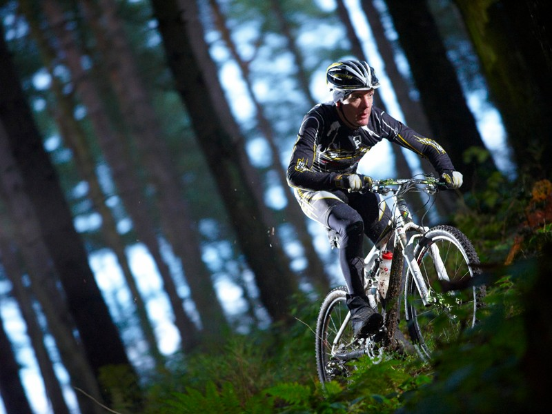 Nick Craig puts the Dalby Forest course to test