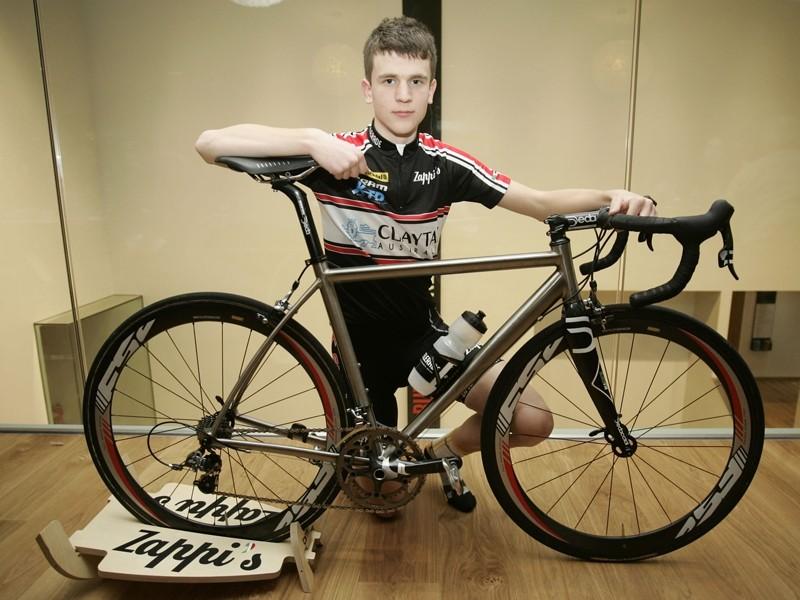 Dexter Gardias and the new Sabbath Monday's Child bike