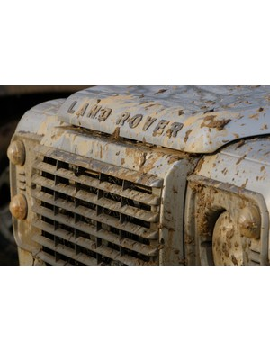 Mud on the bonnet