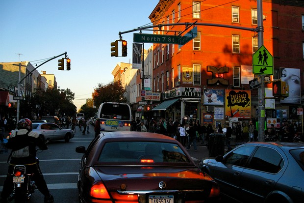 The removal of part of a bike lane in Bedford Avenue, New York has caused controversy