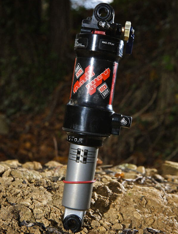 Rockshox Monarch 4.2 dual air shock