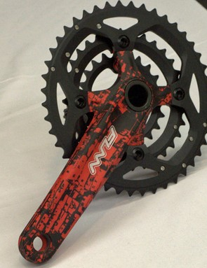 The Hooka AM crankset weighs 931g including bottom bracket