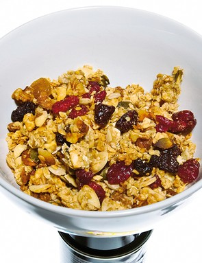 Fibre is made of long chain carbohydrates that our bodies can't break down