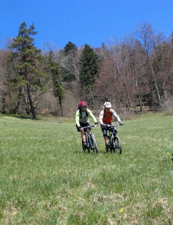 On the Jura Bike mountain bike route
