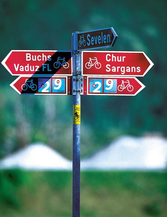 Excellent signposting