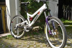 Marzocchi 55 RC3 Ti 'Bomber Purple' Edition
