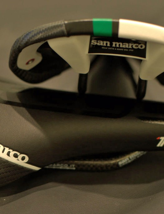 REGALe Racing Team saddle on top of the REGALe Carbon FX