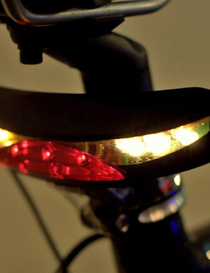 MAGPIE Navigator Wireless Headlight comes with a matching rear light with indicators
