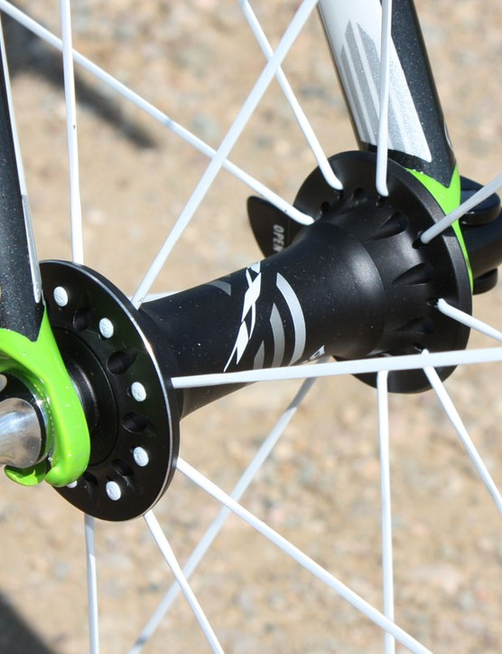 Bontrager has moved away from DT Swiss hubs and now uses its own in-house design.