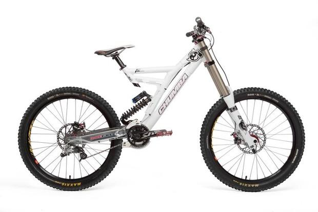 The 2010 Chumba F5 downhill bike