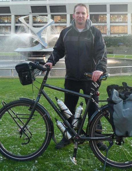 Doctor Steve Fabes is planning to cycle the length of six continents