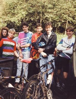 Some of the original CRC crew