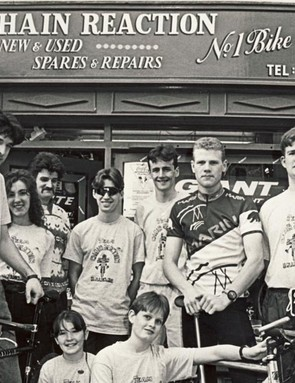 Early days at Chain Reaction Cycles Main St Ballyclare