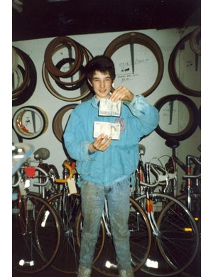 Chris sold his first bike aged 14