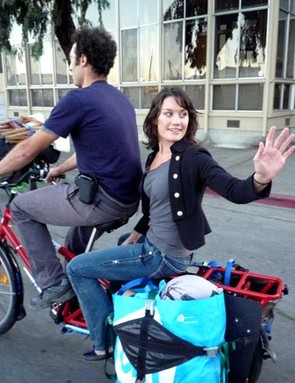 Mundo's Cargo bikes can carry humans!