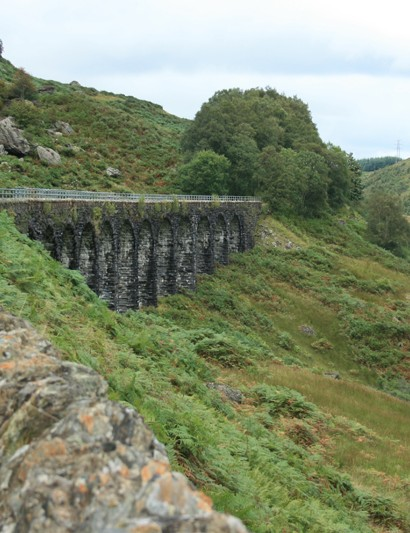 National Cycle Network Route 7 from Glasgow to Inverness passes over the Glen Ogle Viaduct