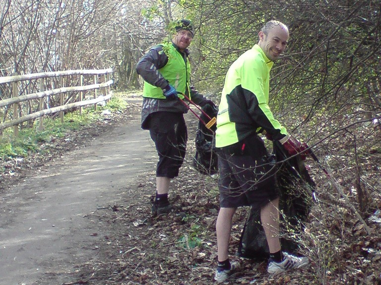 Sustrans is reliant on the support of its rangers and volunteers