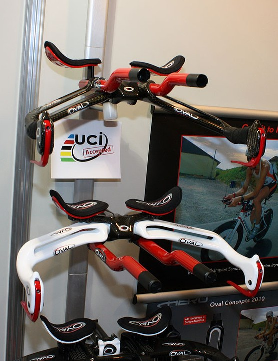 Several of Oval Concepts' integrated aero bars fell victim to the UCI's more stringent enforcement of its 3:1 aero rule but other models were already compliant