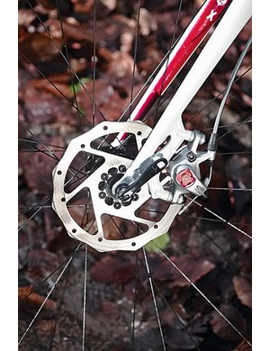 The Avid BB7 road specific cable discs work well