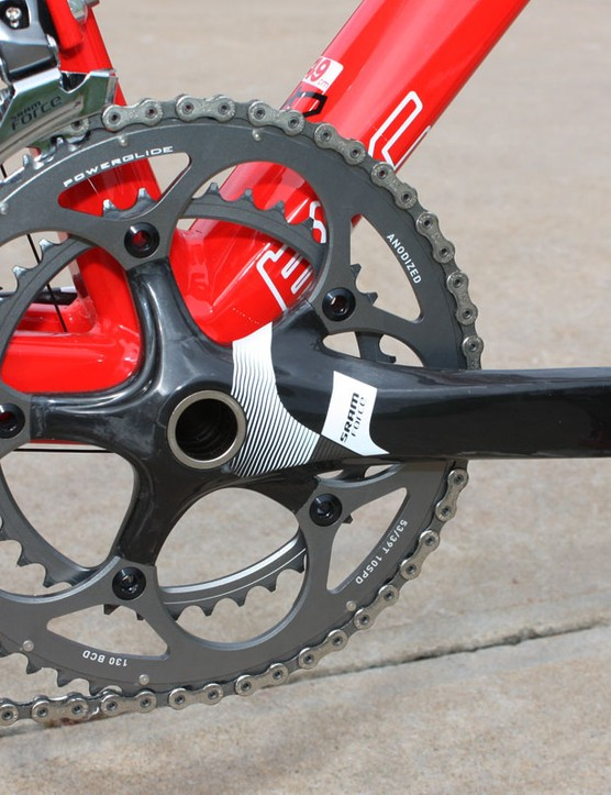 The new crank gets a revised shape, a unidirectional top sheet, and new graphics