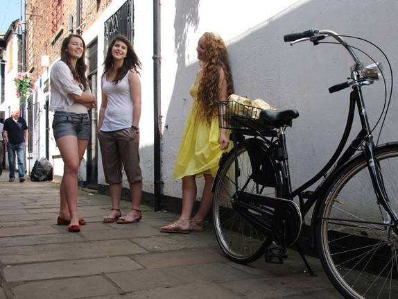 Beauty and the Bike DVD Review stills