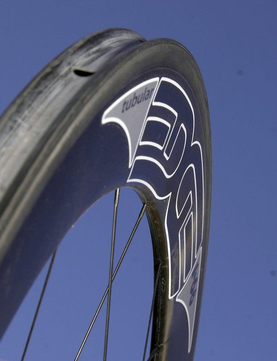 The 68mm-deep rims offer the best straight-line speed in the Edge Composites range
