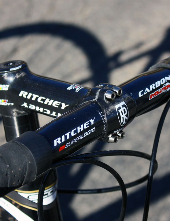 Our top-end SL model includes high-zoot carbon cockpit components from Ritchey