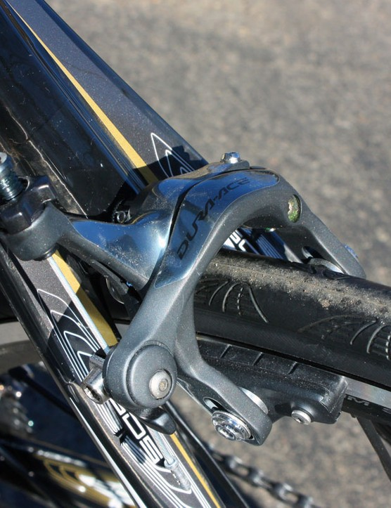 Shimano's latest Dura-Ace calipers provide fantastic stopping performance with superb power, modulation and feel