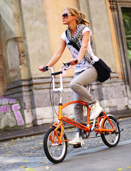 Bigfish's folding bike is unusual in that there is no hinge built into in the front triangle