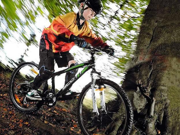 Scott's lean XC machine makes mountain biking  for kids more fun