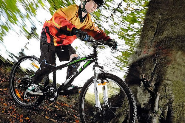 Scott's lean XC machine makes mountain biking  for kids more fun