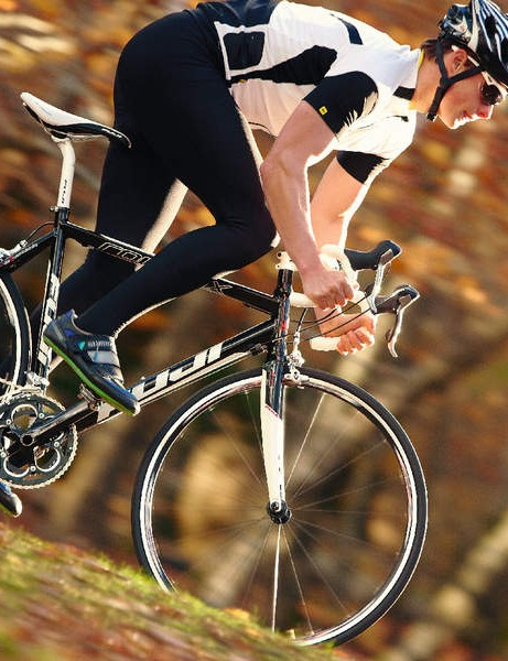 There's plenty of bike-building experience in our Fuji test bike's DNA