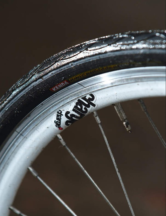 Kenda Kwick Roller tyres are more about endurance and urban survival than supple speed