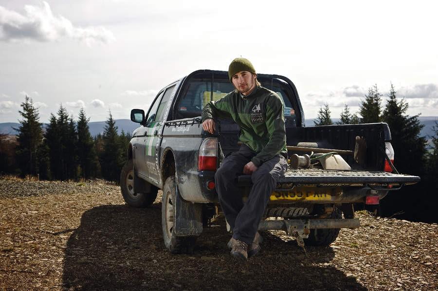 Glentress Ranger: Andy Wardman