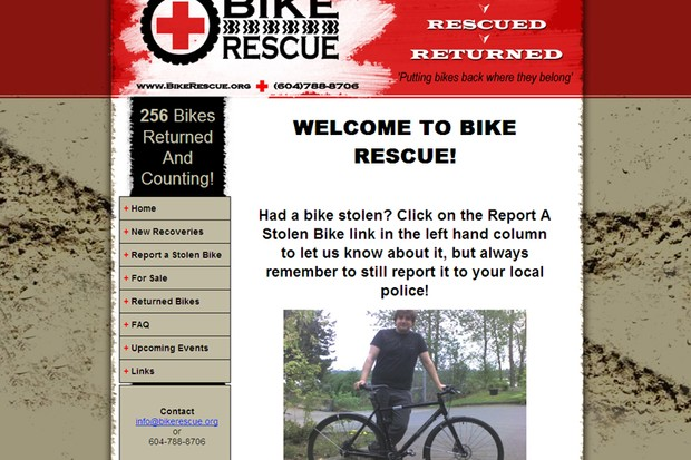 BikeRescue.org has been revealed as a fencing operation