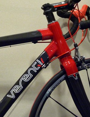 Details have begun emerging of Wiggle's new Verenti bikes, including this spy shot of the flagship Rhigos .01