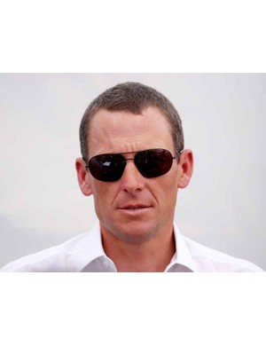 Lance Armstrong is having plenty to say at the Tour Down Under