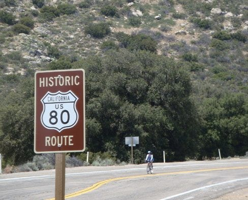 California's Old Highway 80