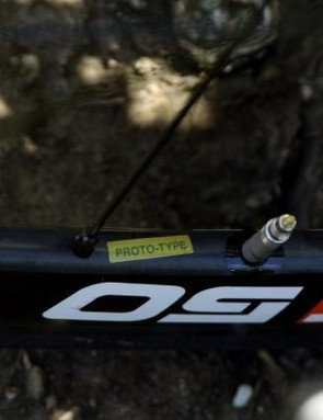 The C50 composite tubular wheels on Swift's Pinarello are still prototypes, with no word on public availability