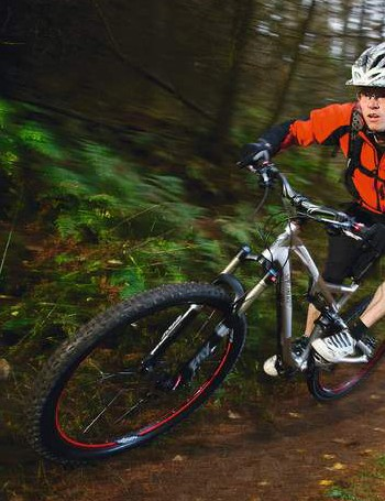 the Stumpjumper is light and nimble enough to rail fast singletrack