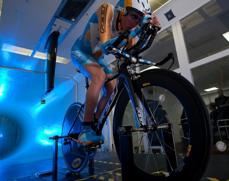 Garmin's wind tunnel testing proved to close the sponsorship deal with Mavic.