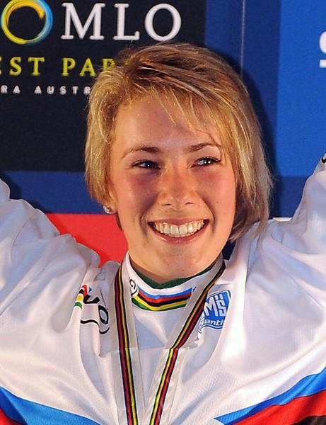 World four-cross champion Caroline Buchanan will ride for Commencal in 2010