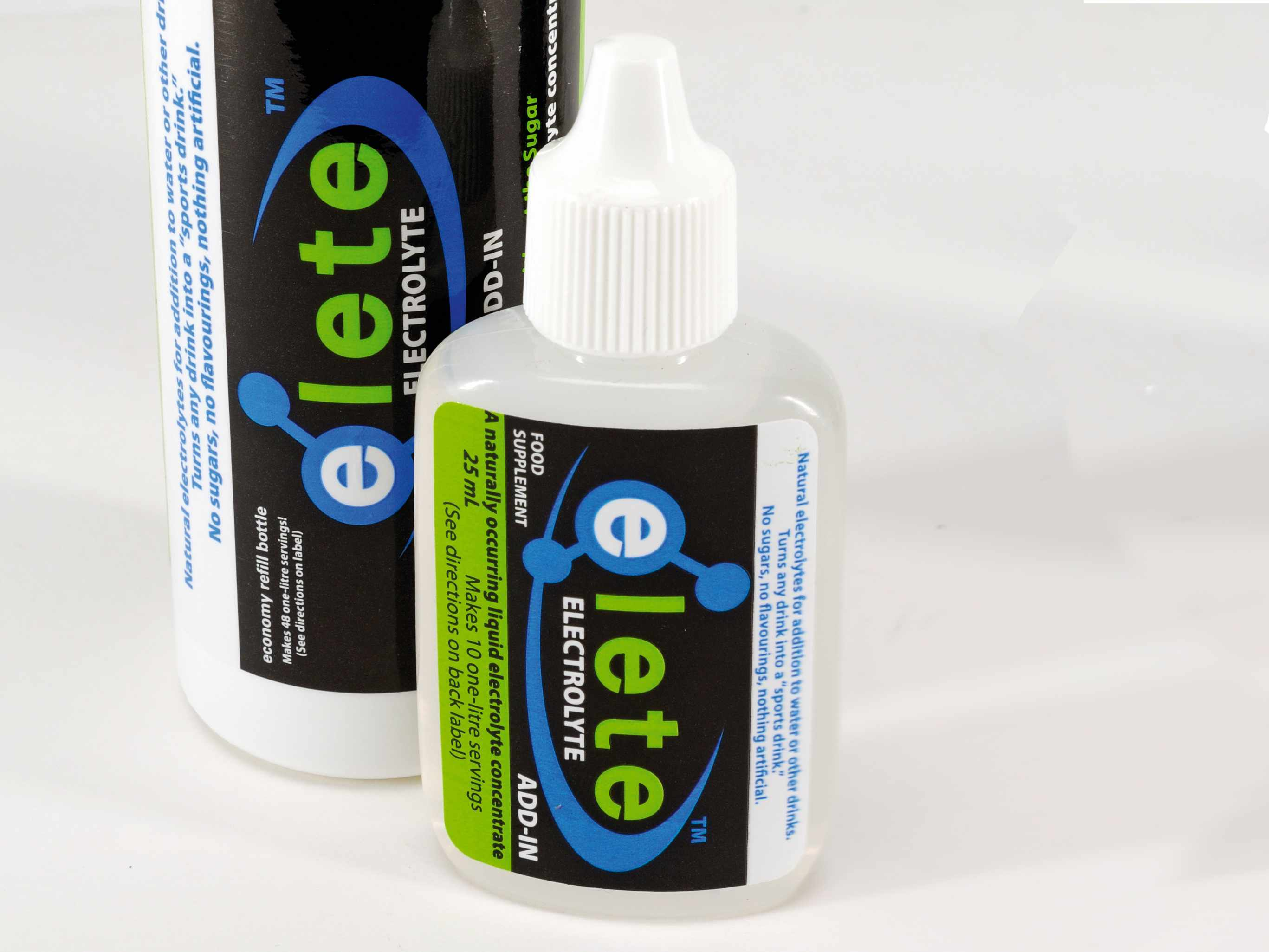 Elete Electrolyte sports drink concentrate