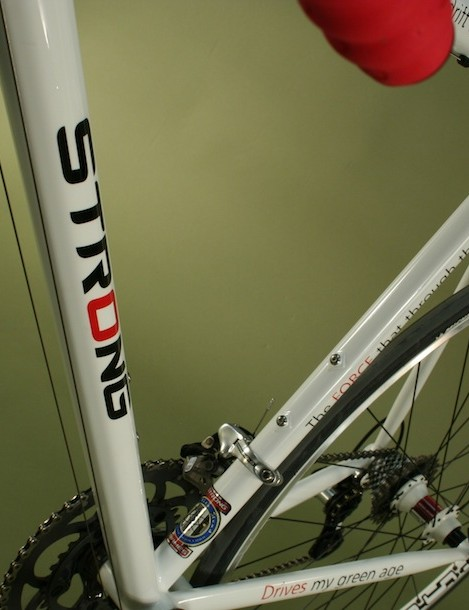 Carl Strong won best TIG welded frame at NAHBS in 2009